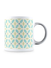 Multicolor Geometric Abstract Pattern Ceramic Mug - By