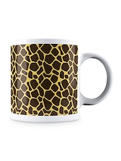 Multicolor Giraffe Animal Pattern Ceramic Mug - By