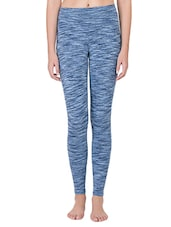 blue cotton leggings -  online shopping for Leggings