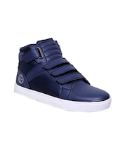 blue Leatherette sneaker -  online shopping for Sneakers