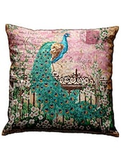 Bianca Nature Love Peacock Print Cushion Cover - By