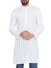 white cotton kurta -  online shopping for Kurtas