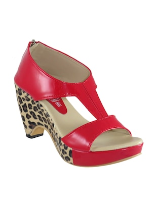 red closed back  sandal -  online shopping for sandals