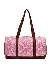 pink lace canvas utility bag -  online shopping for Utility bags