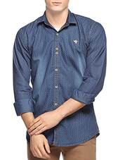 blue denim casual shirt -  online shopping for casual shirts