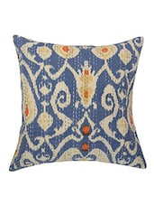 "16"" Indian Ethnic Cushion Cover Ikat Cotton Pillow Cases Decorative Throw Pillows -  online shopping for Cushion Covers"