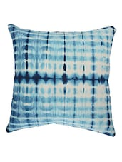"Tie Dye Indian Pillow Cases 16""Indigo Handmade Cushion Decorative Throw Pillows -  online shopping for Cushion Covers"