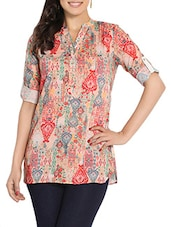 multi colored cotton tunic -  online shopping for Tunics