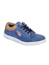 blue lace up casual shoe -  online shopping for Shoes