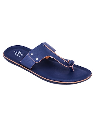 blue synthetic slippers -  online shopping for Slippers