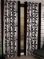 MN Decor Beautifull Set Of 2 Polyester Door Curtain - By