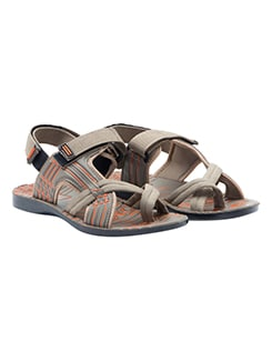 beige synthetic slip on mojaris  available at Limeroad for Rs.499