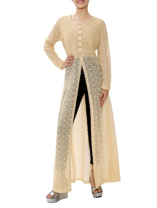 beige cotton tunic -  online shopping for Tunics