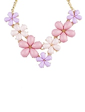 Pink Metal Other Necklace - By