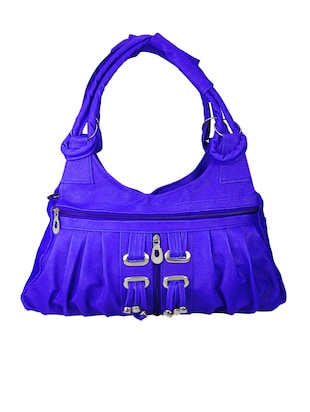 blue rexene handbag