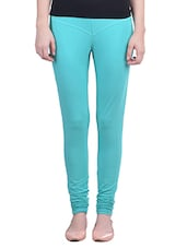 green cotton leggings -  online shopping for Leggings