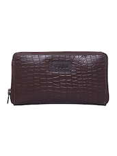 brown leather clutch -  online shopping for clutches