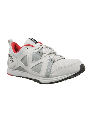 grey mesh sport shoes