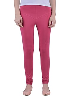 pink Cotton Lycra full Length Legging  available at Limeroad for Rs.359
