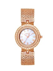 Aspen Ladies White Color Dial With Mother of Pearl Feminine Exclusive Collection Watch For Party Wear -  online shopping for Analog Watches