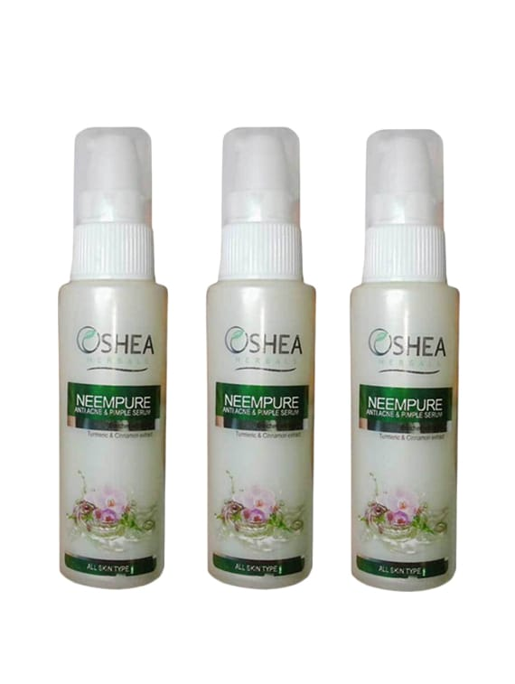 Oshea Herbals Papaya Clean Anti Blemishes Serum 50 Ml(Pack Of 3) (150 Ml) - By