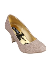 beige synthetic pumps -  online shopping for pumps