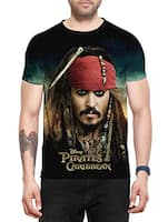 graphic printed polyester  t-shirt -  online shopping for T-Shirts