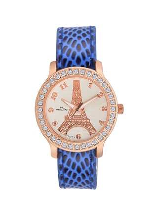 Meclow Analog Blue Watch for Girls -  online shopping for Wrist watches
