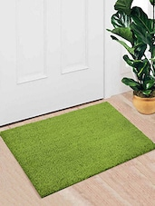 Saral Home 100% Coir Made Heavy Duty Anti Slip Coir Mat With Rubber Backing. Size Is 40x60 Cm. - By