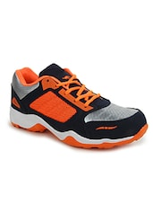 multi leatherette(pu lace up sport shoes -  online shopping for Sport Shoes