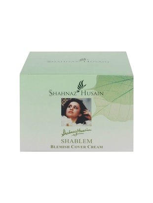 Shahnaz Husain Shablem Blemish Cover Cream (25 g) -  online shopping for face treatment