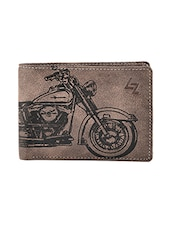 brown leatherette wallet -  online shopping for Wallets