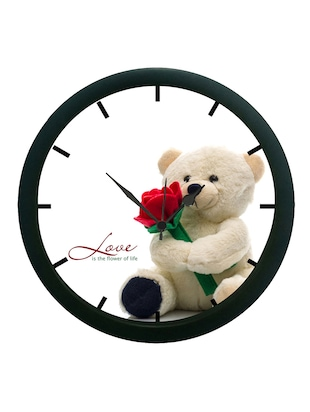 meSleep Teddy Bear 3D Wall Clock (With Glass)