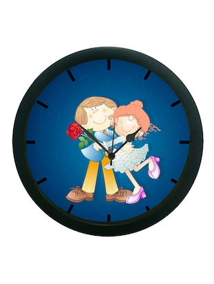meSleep Baby Couple Wall Clock (With Glass)