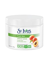 St. Ives Fresh Skin Apricot Invigorates And Smoothes Skin(Made In U.S.A) Scrub (283 g) -  online shopping for scrub