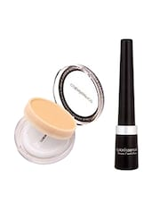 Coloressence Supreme Eyeliner 9 Ml (Natural Black - Le1) And Compact Powder - 10 G (Ivory Beige - Cp-2) (Pack of 2) -  online shopping for beauty sets and combos
