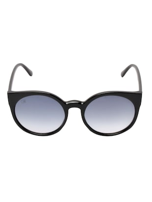 MTV-136-C1 Grey Round Sunglasses