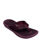 brown pu flip flops -  online shopping for Flip flops