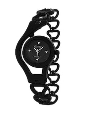 black round dail stainless steel analog watch -  online shopping for Wrist watches