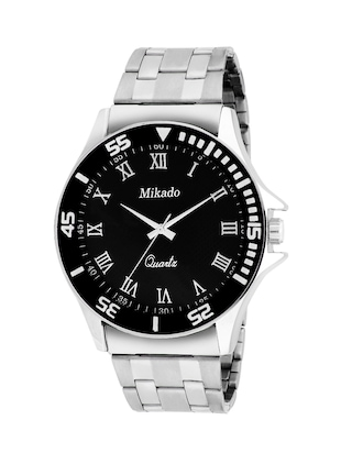 BLACK DAIL ANALOG WATCH -  online shopping for Analog Watches