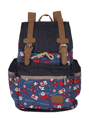 multi canvas fashion backpack