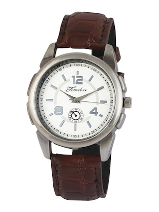 Timebre Men Ivory Copper Analog Casual Watch