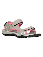 pink synthetic floaters -  online shopping for sandals