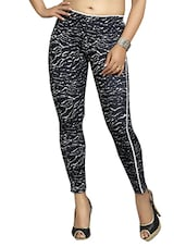 black cotton treggings -  online shopping for Trousers