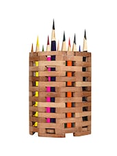 Wooden Pen Stand - By