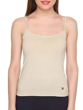 Brown Cotton Plain Camisole -  online shopping for Camisoles