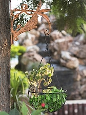 Red Iron Flamingo Wall Brackets - By