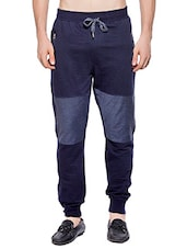 blue cotton track pant -  online shopping for Track Pants