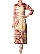 multi rayon long  kurta -  online shopping for kurtas