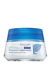 Oriflame Optimals White Oxygen Boost Night Cream - By
